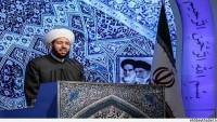 Suriye Başmüftüsü Hassun Tahran'da Cuma Namazından Önce Bir Konuşma Yaptı…