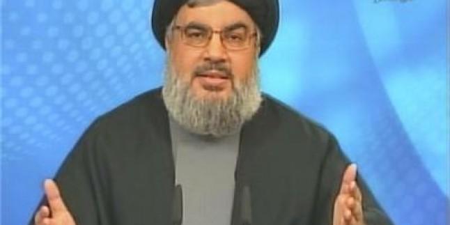 """Seyyid Hasan Nasrallah """"Lübnan direnişi, İsrail'in düşünemediği tüm silahlara sahiptir"""""""