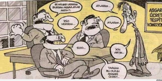 Karikatür: Yeni Türkiye'de Asgari Ücret Böyle Belirleniyor…