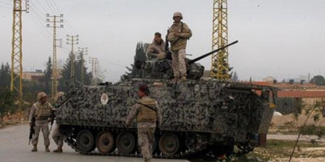Lübnan Ordusu Ersal Bölgesinde Güvenlik Önlemlerini Artırdı…