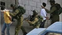 Korsan İsrail Güçleri, 7 Filistinliyi Gözaltına Aldı…