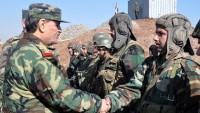Suriye Savunma Bakanı Orgeneral Fehid Al Casım, Kunaytra'da İncelemelerde Bulundu…