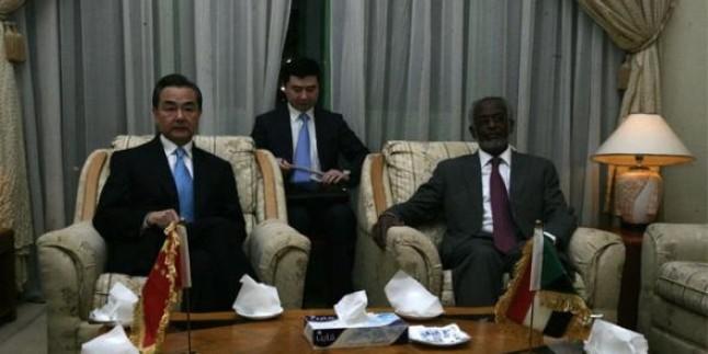 Çin Dışişleri Bakanı Sudan'ı Ziyaret Etti…