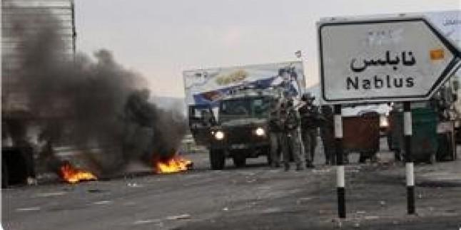 Nablus'ta Çıkan Çatışmalarda 3 Filistinli Genç Yaralandı…