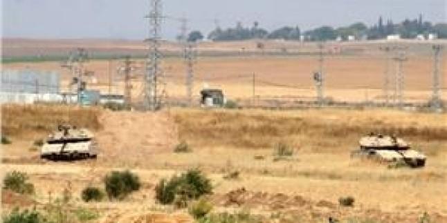 İşgal Güçleri Gazze'nin Güneyinde Tarım Arazilerine Saldırı Düzenledi