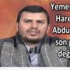 Yemen Hizbullahı Lideri Abdulmelik Husi'nin Konuşmasından Satır Başları