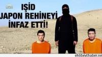 IŞİD, Japon rehineyi infaz etti