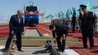 Türkmenistan-Kazakistan-İran Demiryolu Hattında, İlk Ticari Ürün Taşındı…