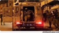 İşgal Güçleri Nablus Kentinde Düzenlediği Baskınlarda 2 Filistinliyi Gözaltına Aldı…