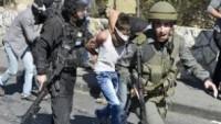 Korsan İsrail Güçleri, 17 Filistinliyi Gözaltına Aldı…