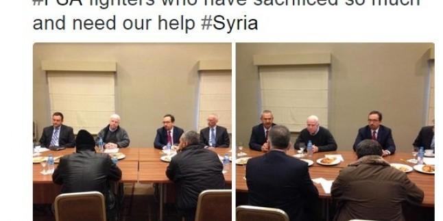 ABD'li Senatör Urfa'da ÖSO Teröristleriyle Görüştü…