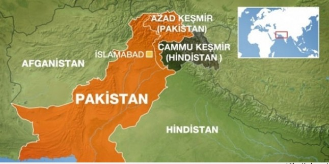 Keşmir'de Çıkan Çatışmalarda Bir Çocuğun Öldüğü Açıklandı…