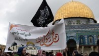 Mescid-i Aksa'da Charlie Hebdo Protesto Edildi…