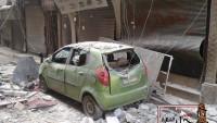 Teröristler, Suriye'de Yine Sivilleri Hedef Aldı…