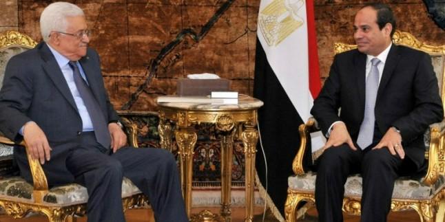 Filistin Devlet Başkanı Abbas, Mısır'da…