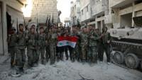 Suriye Ordusu Homs Doğu Kırsalında Çok Sayıda IŞİD Teröristini Öldürdü.