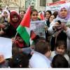 İsrail hapishanelerindeki çocuk tutukluların serbest bırakılması talebiyle gösteri düzenlendi…