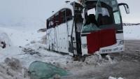 Malatya'da Yolcu Otobüsü Devrildi: 1 Ölü 15 Yaralı…