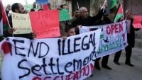 Filistin Halkı, Korsan İsrail Cumhurbaşkanı Rivlin'i Protesto Etti…