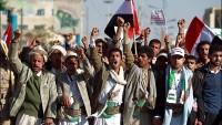 Foto: Yemen'de ABD ve İsrail'in Yemen içişlerine karışması protesto edildi…