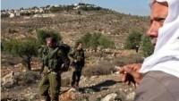 Siyonist İsrail Güçleri, Filistinli Çiftçilere Saldırdı