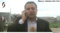 Teröristler Dera Kırsalı Deyr el Ades Beldesinde Basın Ekibine Ateş Açtı…
