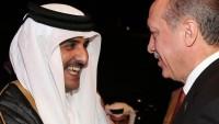 Libya halkı Türkiye ve Katar aleyhinde sloganlar attı
