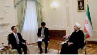 İran cumhurbaşkanı, Çin dışişleri bakanı Wang Yi'yi kabul etti