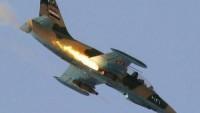 Suriye Hava Güçleri, Haseke'nin Neşva Cephesinden Kaçan IŞİD Teröristlerini Kaçtıkları Minibüsle Birlikte İmha Etti
