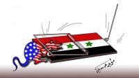 Karikatür: Büyük Şeytan ABD Ve Siyonizmin Mücah-itleri, Suriye'de Kapana Yakalandı…