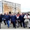 Bakan, Vali ve Suriyeli Gurbetçiler Heyeti Husn Beldesini Dolaştı…