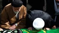 Foto: İran Cumhurbaşkanı Hasan Ruhani'nin Annesi Toprağa Verildi.