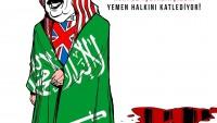İsrail'e Tek Bir Kurşun Bile Atmayan Körfez İşbirlikçileri Yemen Halkını Katlediyor!