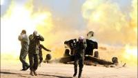 Foto: Irak Ordusu Topçu Bataryası IŞİD Mevzilerini Vuruyor…