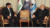 Irak Dışişleri Bakanı Caferi, Suriye'nin Irak Büyükelçisi İle Bir Araya Geldi.