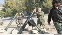 Teröristler Şam'da Çarşıya Füzelerle Saldırdı.