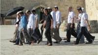 Siyonistler, Yine Mescid-i Aksa'ya Baskın Düzenledi