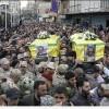 Foto: Şehid Düşen Hizbullah Askerlerinin Cenaze Töreni.
