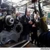 Tataristan cumhurbaşkanı Tebriz Traktör sanayi kompleksini ziyaret etti