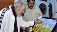 Fidel Castro, Maduro'yu ABD Karşısında Sergilediği Tavırdan Ötürü Kutladı…