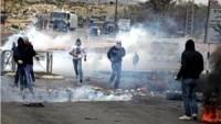 Filistin Cuma Eylemlerinde Mermilerle ve Gaz Bombalarıyla Yaralananlar Var.