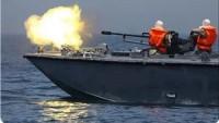 Siyonist İsrail Donanması Dün Akşam Gazze Şeridi Sahiline Top Atışı Yaptı