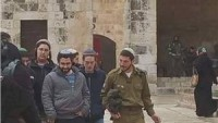 Yahudi Yerleşimciler Yine Mescid-i Aksa'ya Baskın Düzenledi.