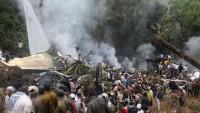 Hindistan'da askeri uçak düştü