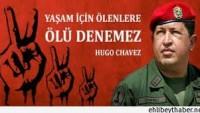 Büyük Şeytan ABD'nin Düşmanı, Hak ve Adalet Yanlısı, Mazlumların Dostu Venezuela Lideri Hugo Chavez'in Aramızdan Ayrılışının 2. Yılı…