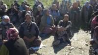 Manisa'da köylüler mermer ocağına karşı nöbet tutmaya başladı.