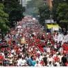 Venezuela'da halk emperyalizme karşı yürüdü…