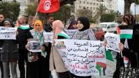 Tunus'ta Mısır protesto edildi…