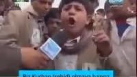 Video: Yemenli küçük mücahidin tüm emperyalistlere cevabı