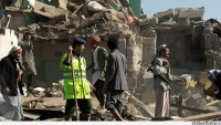 Yemen'e saldırılar sürüyor: Hastaneler bombalandı.